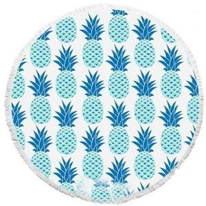 The Bonita Beach Collection Pineapple Round Towel